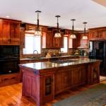 Greene-&-Greene-Style-Kitchen-Cabinetry