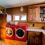 Knotty-alder-laundry-room