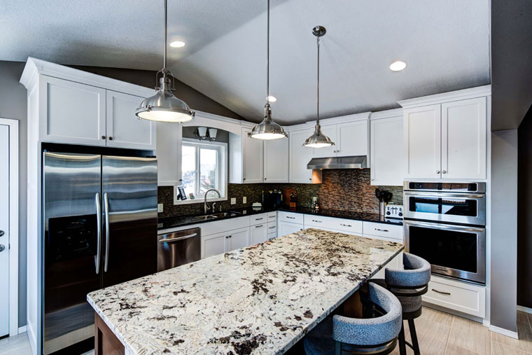 Transitional-Style-painted-kitchen